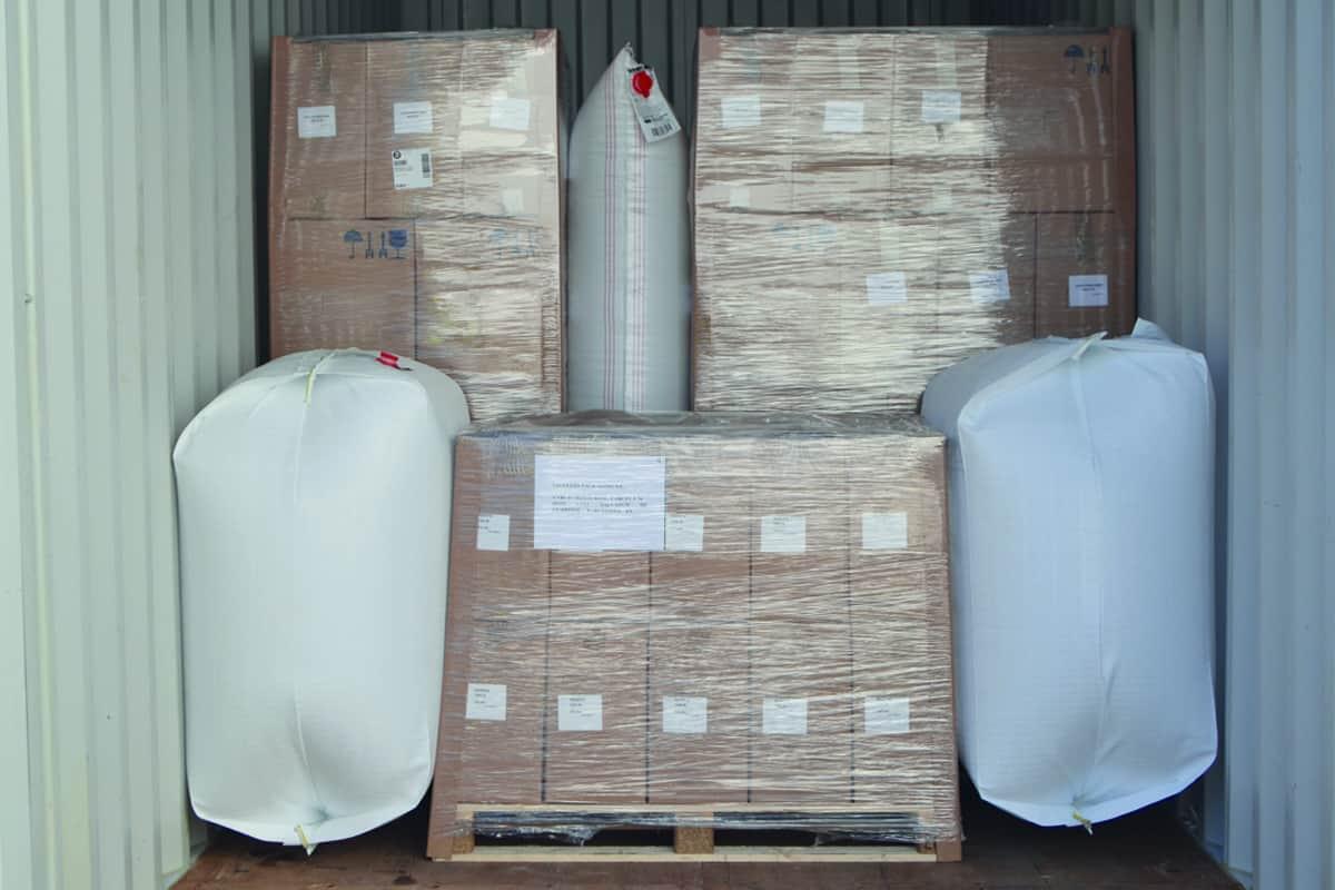 Embalajes para la protección en el transporte